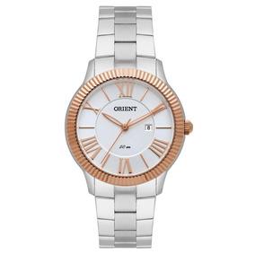 Relógio Orient Feminino Ref: Ftss1108 S3sx Casual Bicolor