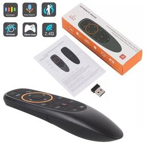 Controle Mouse G10 Comando De Voz P/ Tv Box Android Htv Btv