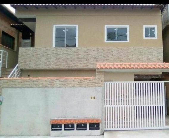 Casa Em Porto Novo, São Gonçalo/rj De 55m² 2 Quartos À Venda Por R$ 170.000,00 - Ca224456