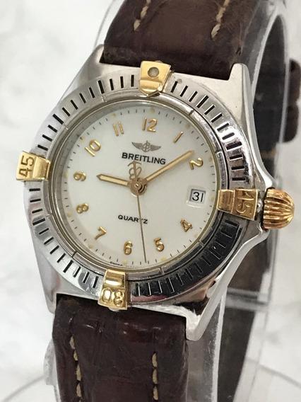 Breitling Callistino Ouro E Aço - Conheça Nossos Relógios