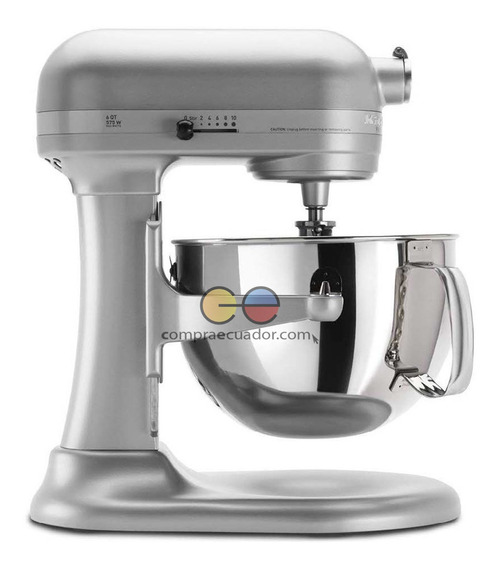 Kitchen Aid Batidora De Pedestal 10 Vel. 5.7 Litros 575w