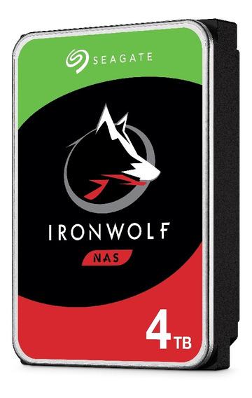 Dd Interno Seagate Ironwolf 3.5 4tb Sata3 6gb/s 5900 24x7 Ho