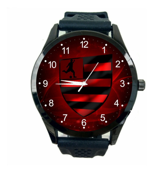 Relogio Personalizado Flamengo Masculino Futebol Escud T1500