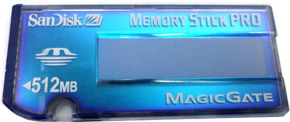 Memoria Memory Stick 1 Para Camaras Sony 512 Mb E6081