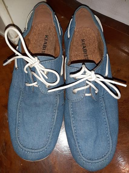 Zapatos Náuticos T.45