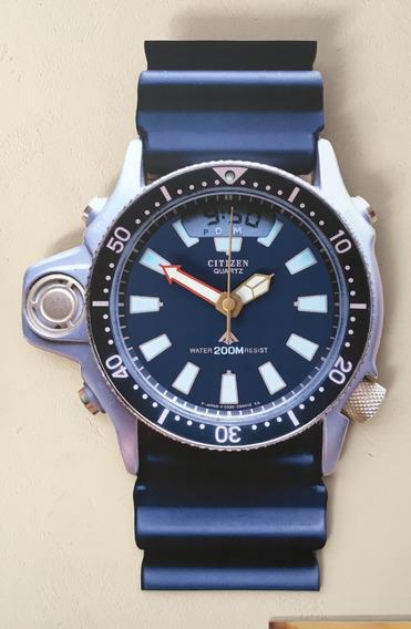 Relógio De Parede Citizen Aqualand C022 C020 Jp2000 Jp2004