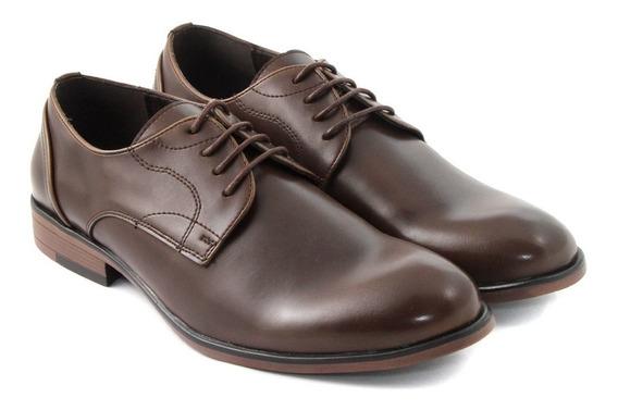 Zapato Hombre Cuero Vestir Cordon Massimo Chiesa Casimiro