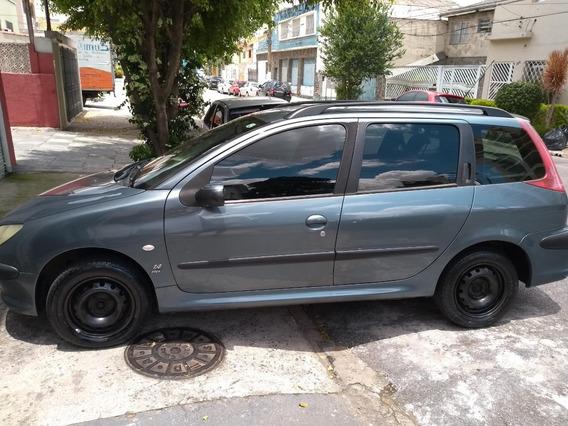 Peugeot 206 Sw 1.4 Flex 2006/2007