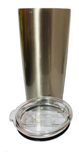 Vaso Conico Acero Sublimar Sublimacion Colormake Plata 20oz