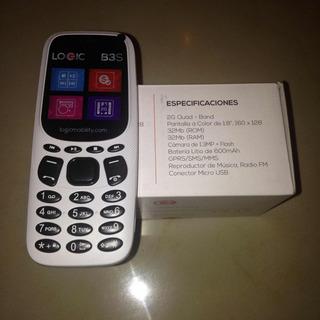 Tlf Celular Logic B3s Doble Sim 25 Vrd