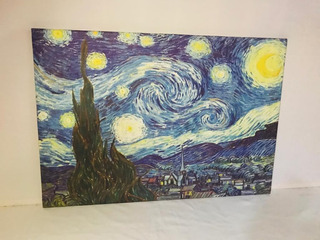 Cuadro Decorativo ´´la Noche Estrellada Van Gogh´´