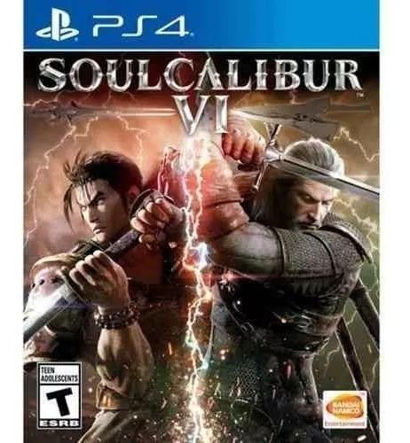 Jogo Soulcalibur Vi 6 - Soul Calibur - Ps4 Física Lacrado