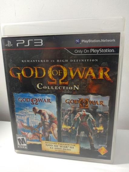 Jogo God Of War Colection Gow I E Ii Playstation 3