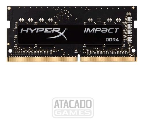 Memórias Hyper X Impact Ddr4 2666 Mhz 2x4 Gb