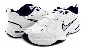 Tenis Nike 415445 102 White/metallic Silver-mid Navy Air Mon