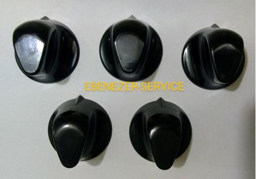 Imagen 1 de 5 de  5 Perillas Baquelita 8mm Cocina Industrial Fornax  Contimet