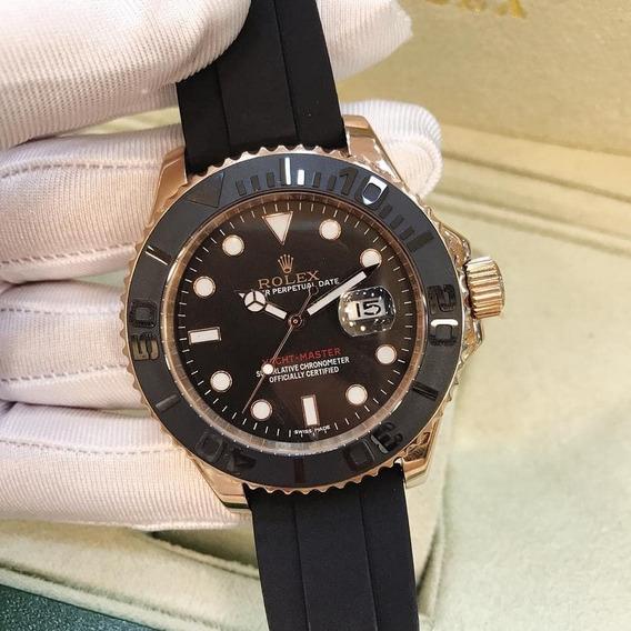 Relógio Yatch-master 42 Automático Safira Inox Prova D