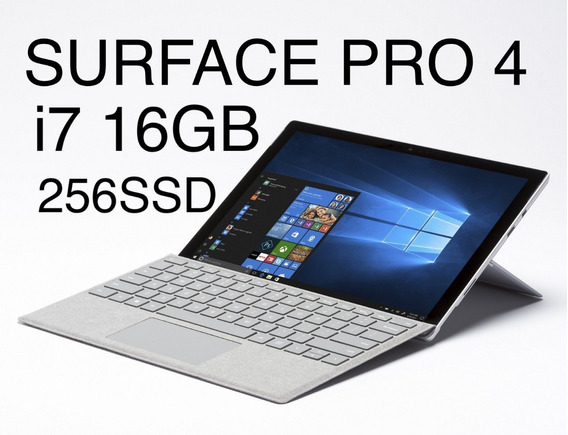 Surface Pro 4 I7 16gb 256ssd+type Cover Muito Conservado Nf