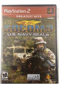 Jogo Socom 3 Us Navy Seals Greatest Hits Ps2 Novo Original