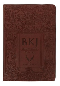 Bíblia King James Fiel 1611 - Ultra Gigante - Capa Luxo Mar