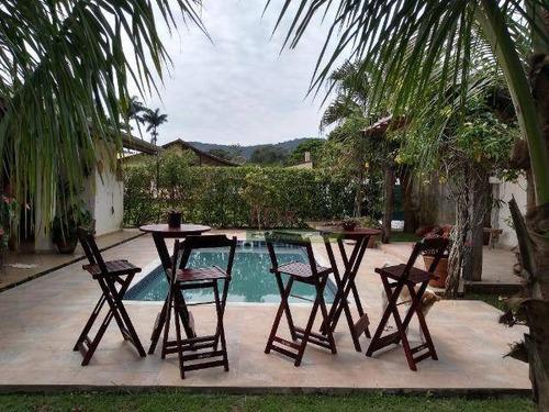 Imagem 1 de 17 de Casa Com 3 Dormitórios À Venda, 250 M² Por R$ 1.100.000,00 - Praia Dura - Ubatuba/sp - Ca4806
