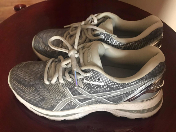Vendo Zapatillas Acsics Gel Nimbus Platinium Mujer