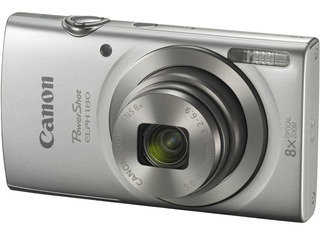 Camara Canon Powershot Elph 180 Plata 1093c001aa /v /vc