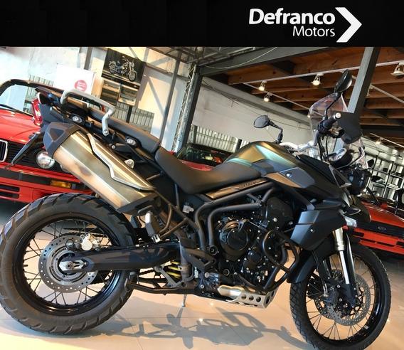 Triumph Tiger 800 Xc Permuto Financio Defranco Motors