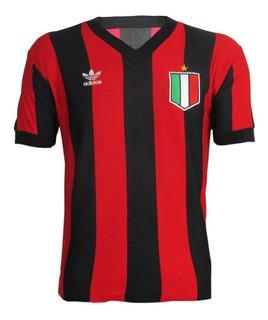 Camisa Retro A. C. Milan Anos 80