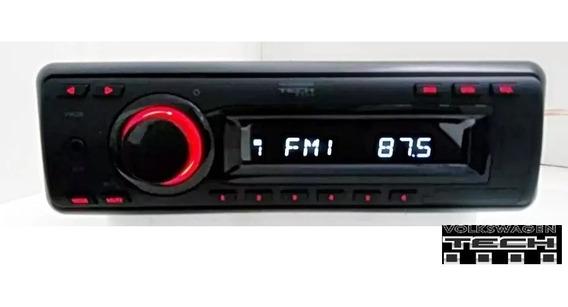 Som Radio Original Volkswagen Tech Volksline /am/fm/p2 Novo