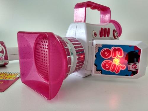 Barbie Set De Reportera