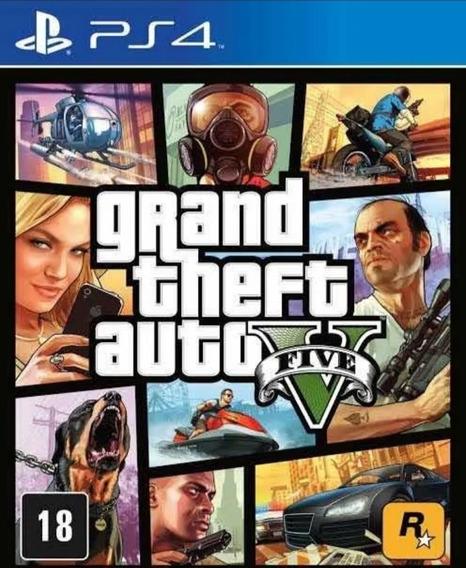 Grand Theft Auto Gta 5 V Ps4 Digital1 - Jogo Original