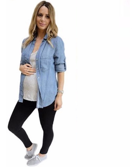 Calzas Supplex Suplex Ultra Cintura Reforz. Ideal Embarazada