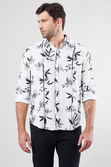Camisa Regular Linho Bamboo Reserva