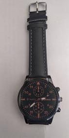 Relógio Preto Analógico