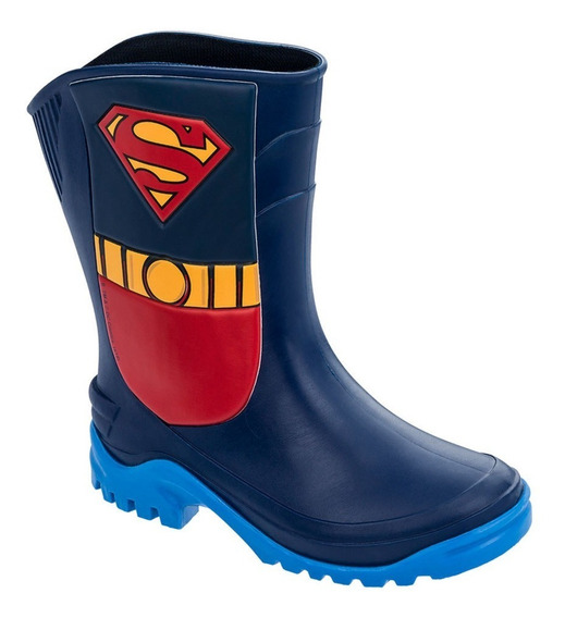 Galocha Infantil Super Homem Grendene Kids 21766