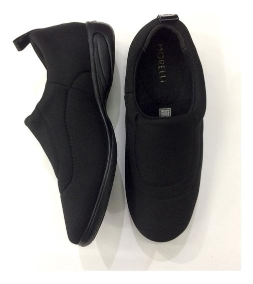 Sapato Neoprene Macio Funções Ortopédicas Feminino 61159