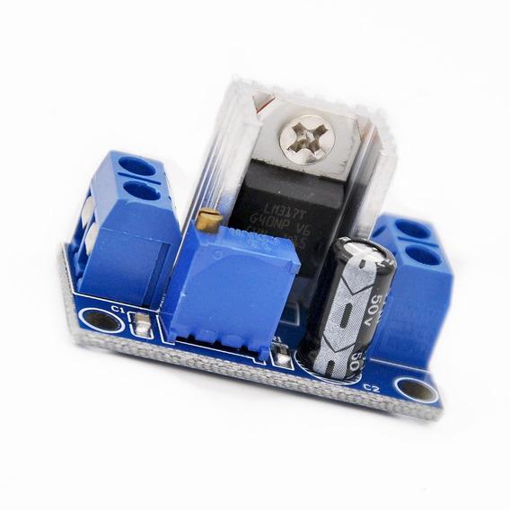 Regulador De Tensão Linear Ajustável Lm317t 3a Dc-dc Arduino