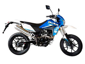 Moto Beta Motard 200 M4 New Azul 0km Urquiza Motos