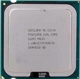 Processador Intel Pentium Dual E2140 1.60ghz 1m 800 06 Sla93