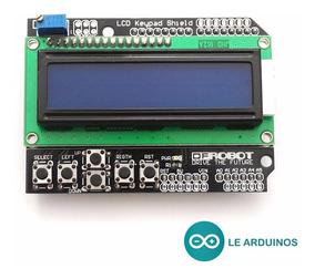 Display 16x2 Lcd Shield Com Teclado Arduino Uno