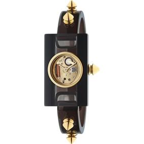 Relógio Gucci Feminino Borracha Preta - Ya143508