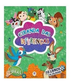 Ciranda Das Diferenças Vol. 2 10 Livros + 10 Cds *promoção*
