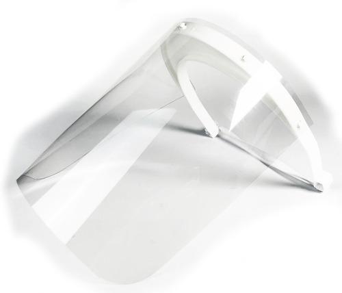 Imagen 1 de 9 de Careta De Protección Facial Completa Paquete De 50 Piezas