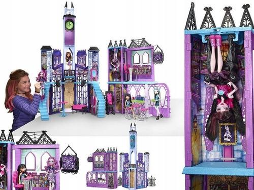 Monster High Escuela De Lujo Casa Mansion Muñeca Mattel