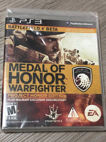 Playstation 3 : Medal Of Honor Warfighter Plus Walmart Exclu
