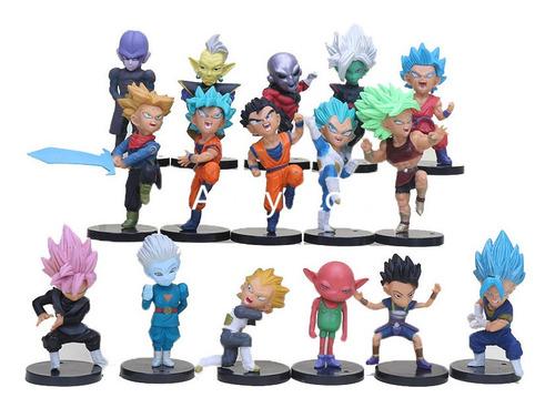 16 Muñecos De Coleccion  Dragon Ball Super