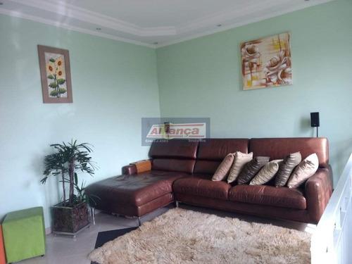 Apartamento Duplex Com 3 Dormitórios À Venda, 95 M² - Jardim Angélica - Guarulhos/sp - Ai16763