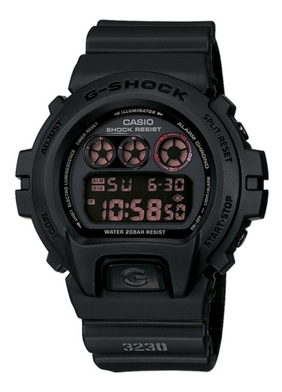 Relógio Casio Gshock Masculino Dw-6900ms-1dr C/garantia E Nf