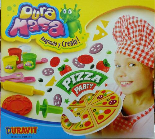 Duramasa Juego De Masa Pizza Party Duravit Cuerpos Didact